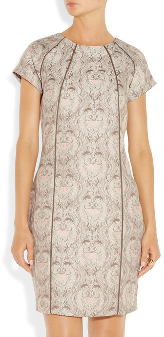 DAY Birger et Mikkelsen Falbourg floral-jacquard dress
