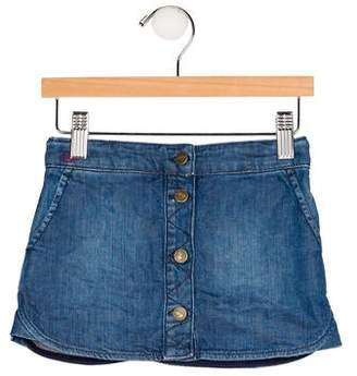 Marc Jacobs Girls' Mini Denim Skirt