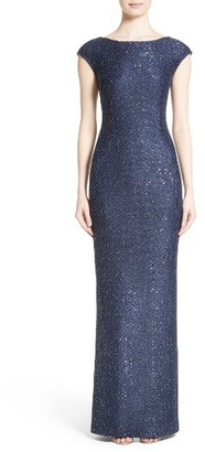 Women's St. John Evening Sequin Gown $1,595 thestylecure.com