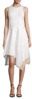 Derek Lam 10 Crosby Asymmetrical-Hem Dress