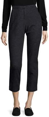Eileen Fisher Women's Twill Skinny Ankle Pants