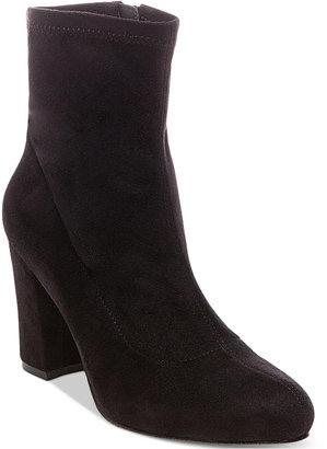 Madden Girl Fantaysa Block Heel Booties $59 thestylecure.com