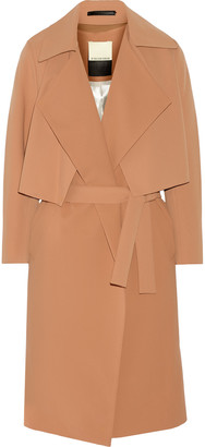 By Malene Birger Pasinios convertible crepe trench coat $975 thestylecure.com