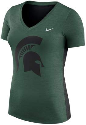 Nike Women's Michigan State Spartans Dri-FIT Touch Tee