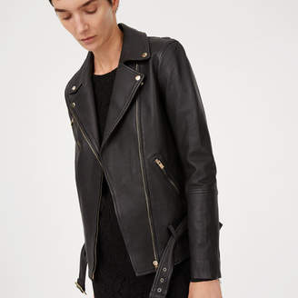 Club Monaco Cyrena Leather Jacket