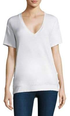 Feel The Piece Charles Lace-Up Tee