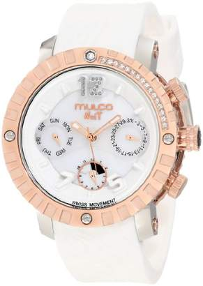 "Mulco Unisex MW5-1622-013""Nuit"" Stainless Steel Watch"