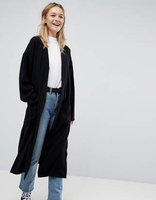 Asos Design DESIGN soft duster coat