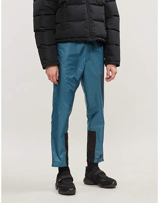Prada Logo-patch shell jogging bottoms
