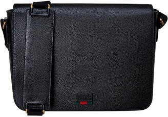 Gucci Leather Messenger