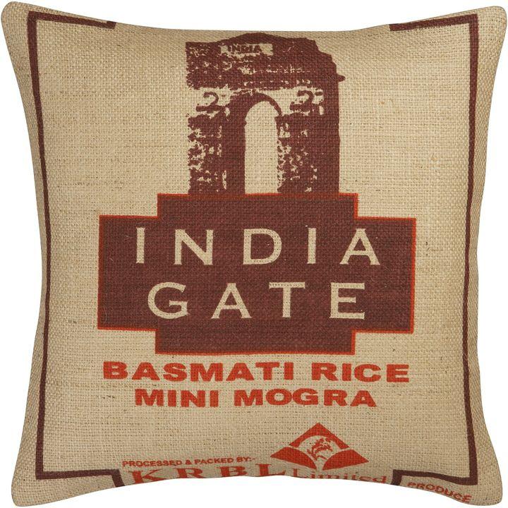 India Gate Rice Bag Pillow