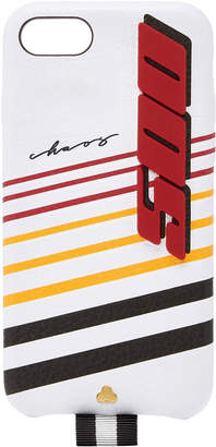 Chaos M'O Exclusive White Leather Speed 500 7/8 iPhone Case