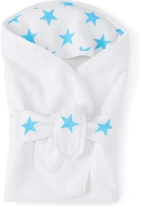 Aden Anais aden + anais Classic Baby Bath Wrap Fluro Blue