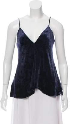 Theory Velvet Sleeveless Top