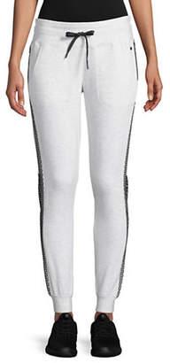 DKNY Mesh-Paneled Jogger Pants