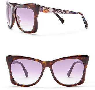 Emilio Pucci 59mm Plastic Sunglasses