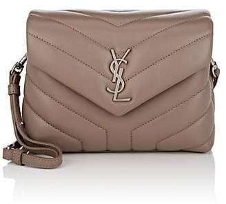 Saint Laurent Women's Monogram Loulou Toy Small Leather Shoulder Bag
