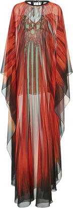 Elie Saab Printed Full Length Caftan $3,850 thestylecure.com