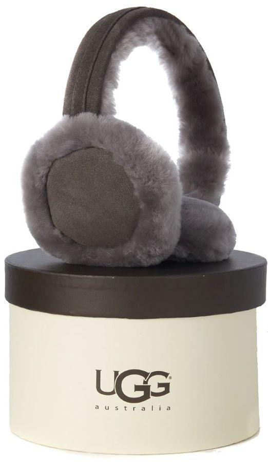 UGGUgg Grey Suede Earmuff