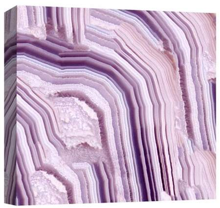 Purple Waves Decorative Canvas Wall Art 16