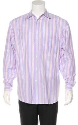 Zegna Sport Striped Woven Shirt