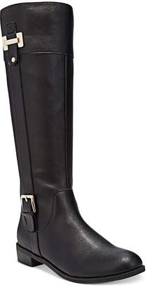 Karen Scott Deliee Wide-Calf Riding Boots, Created for Macy's Women's Shoes