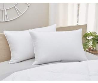 Amberly Bedding 700 Fill Power White Goose Down Pillow Firm Fill Queen Size