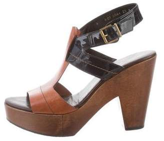 Robert Clergerie Platform Slingback Sandals
