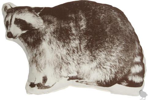 Fauna Mini Animal Pillows - Raccoon