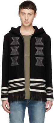 Saint Laurent Black Baja Coat