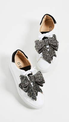 D.A.T.E Newman Bow Strass Sneakers