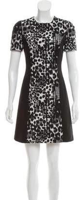 Versace Wool Mini Dress w/ Tags