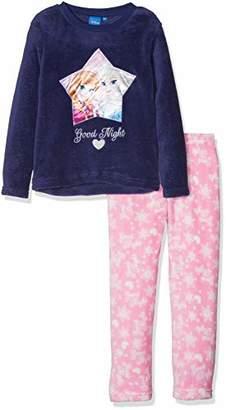 Disney Frozen Girl's Frozen Good Night Long Sleeve Pyjama Sets,(Manufacturer Size:5Y)