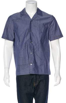Louis Vuitton America's Cup Camp Collar Shirt