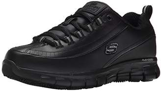 Skechers for Work Women's Sure Track Trickel Slip Resistant Work Shoe