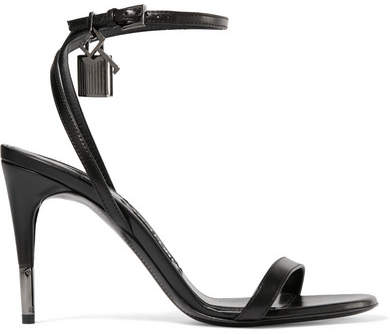 TOM FORD - Leather Sandals - Black