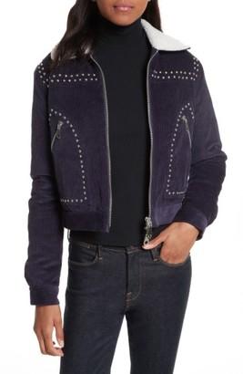 Women's Rebecca Minkoff Koshova Faux Shearling Jacket