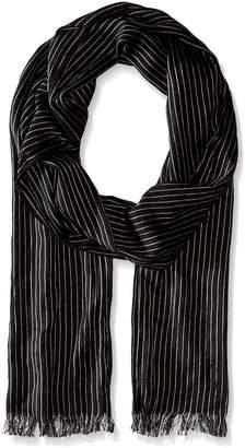 John Varvatos Men's Pin Stripe Scarf
