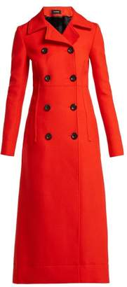Kwaidan Editions - Double Breasted Wool Coat - Womens - Red