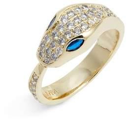 Melinda Maria Serpent Pave Ring