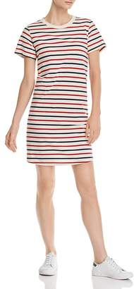 Current/Elliott The Beatnik Striped T-Shirt Dress