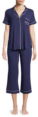 Kate Spade Two-Piece Cropped Pyjama Set