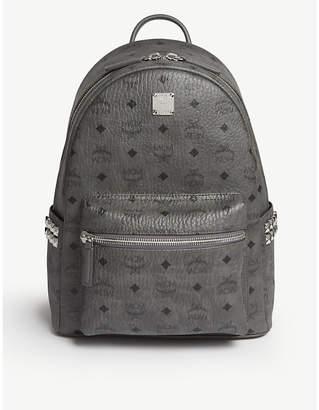 MCM Stark side studs leather backpack