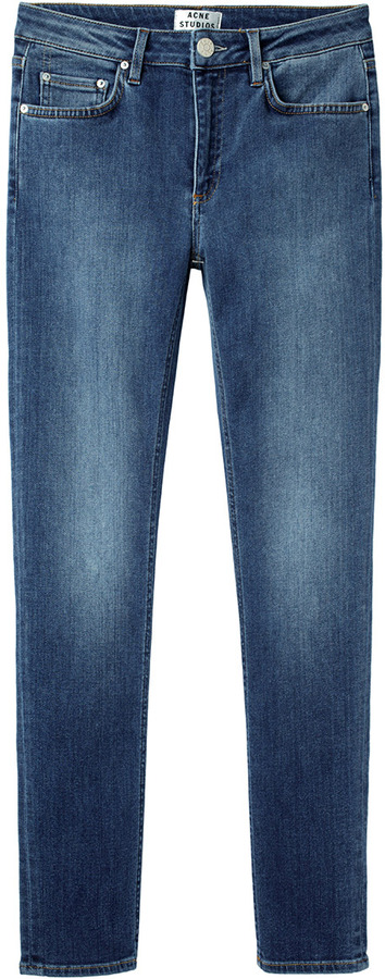 Acne Studios skin 5 used blue jean