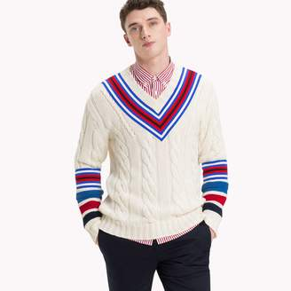 Tommy Hilfiger Cableknit Cricket Sweater