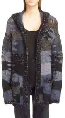 Saint Laurent Oversize Hooded Sweater