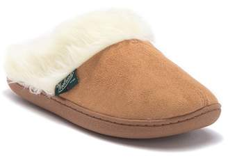Woolrich Cabin Lounger Faux Fur Trim Slipper