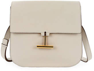 Tom Ford Tara Large Calf Grain Leather Shoulder Bag