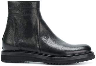 Rick Owens side zip ankle boots