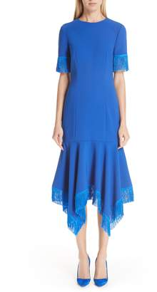 Sachin + Babi Valler Fringe Trim Dress